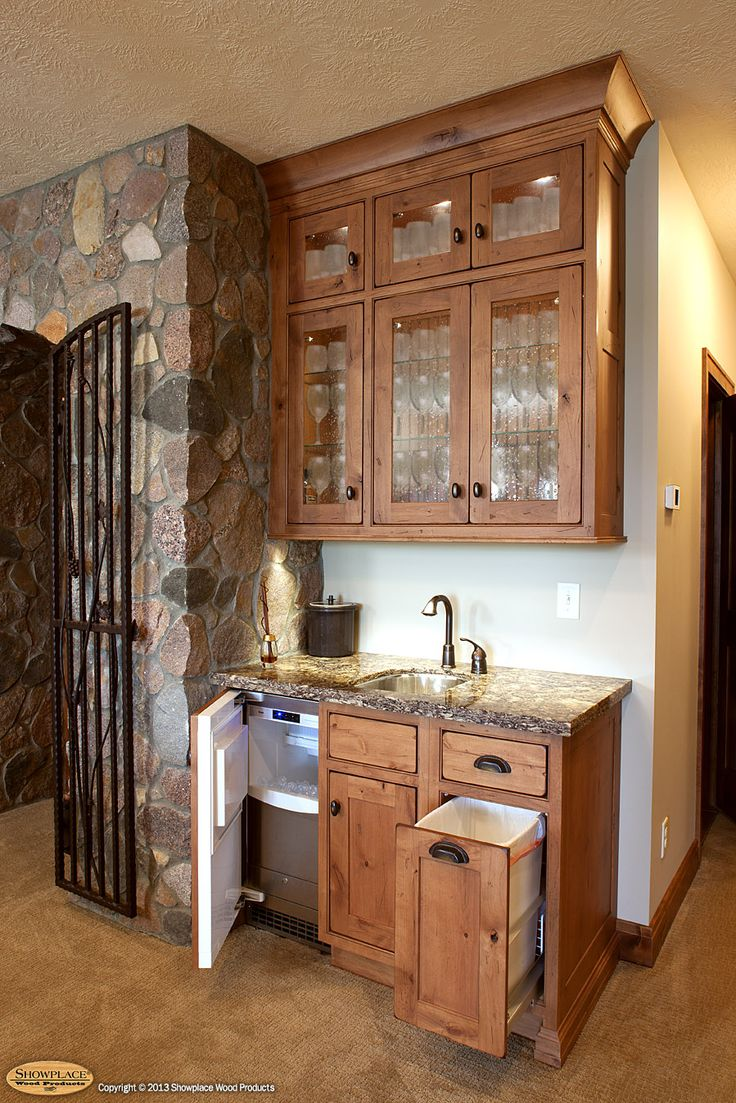 Wet Bar Cabinets | Cabinets: Showplace Cabinetry Creates A Distinctive Wine  Cave And Wet .