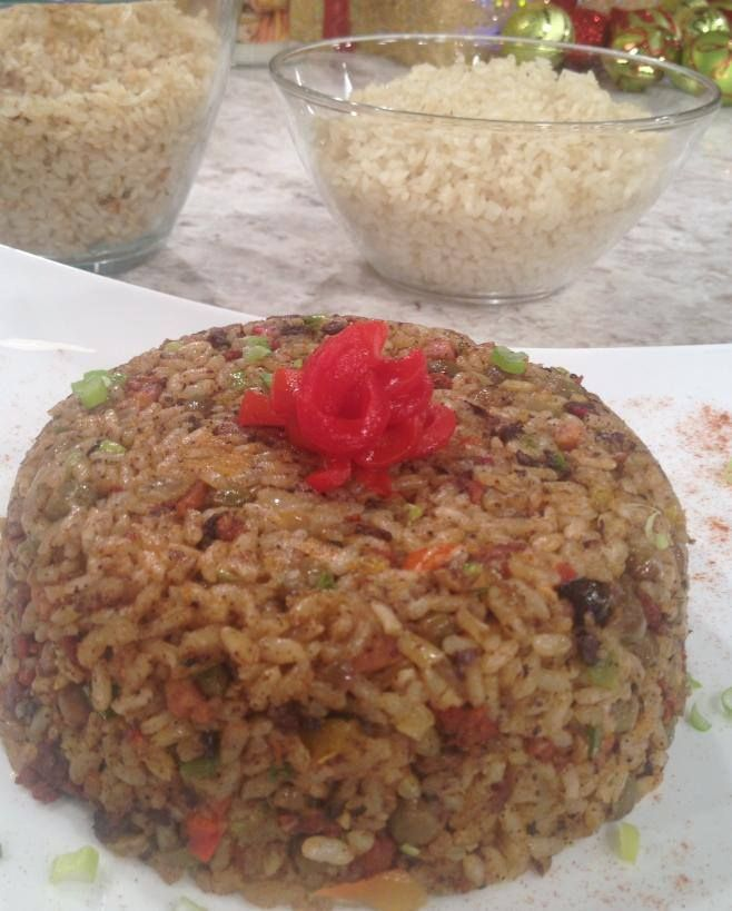 Arroz Mamposteao de Gandules - Chef Edgardo Noel