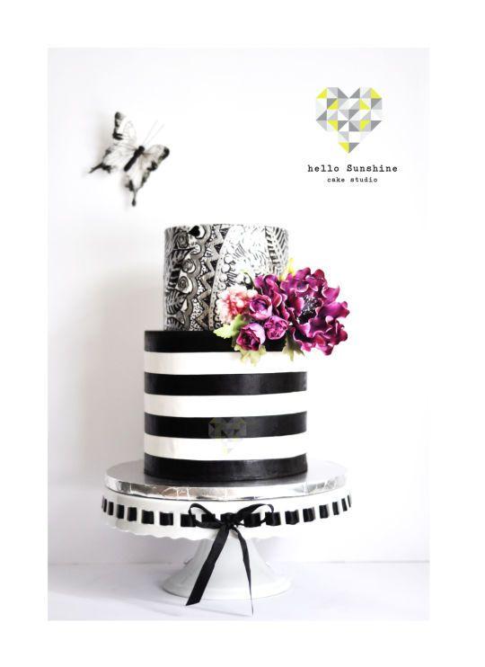 Doodle Art Cake