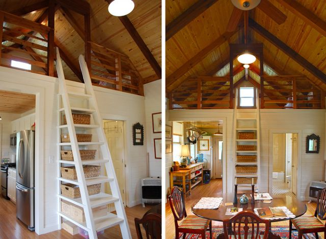 via Tiny House Swoon This needs to be my house.
