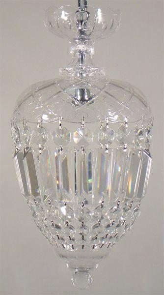 Mozart 1 Light Crystal Basket (Mozart) Lighting Inspirations – Bright Lighting