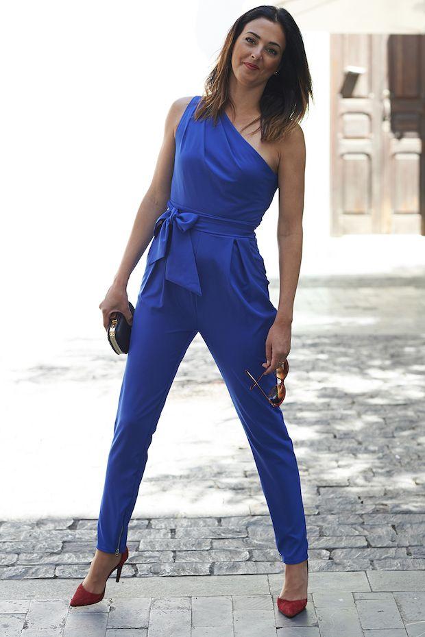 Charmé Closet - Look - Mono azul asimétrico
