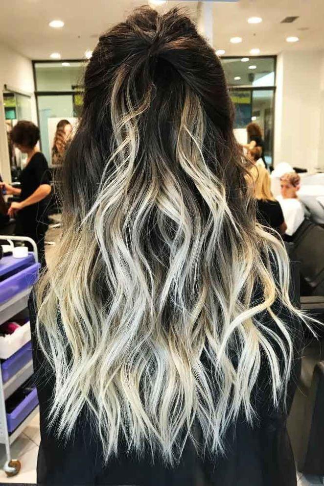 Nouveau look cheveux long
