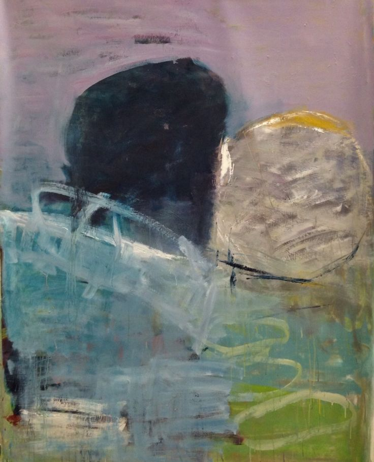 Marianne Hansen, olie på lærred, 167x125 cm.