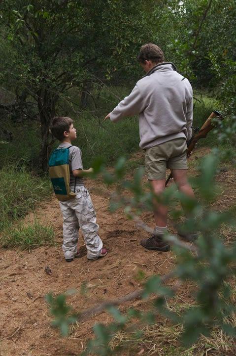 #Thornybush children's game walk with ranger