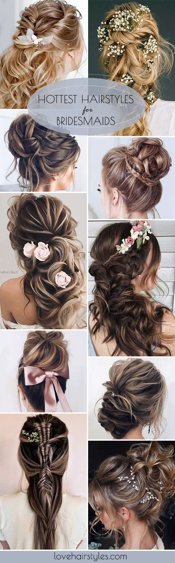 best belle coifure images on pinterest bridal hairstyles