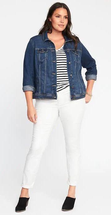 Plus Size Denim Jacket Plus Size Fashion For Women Plussize
