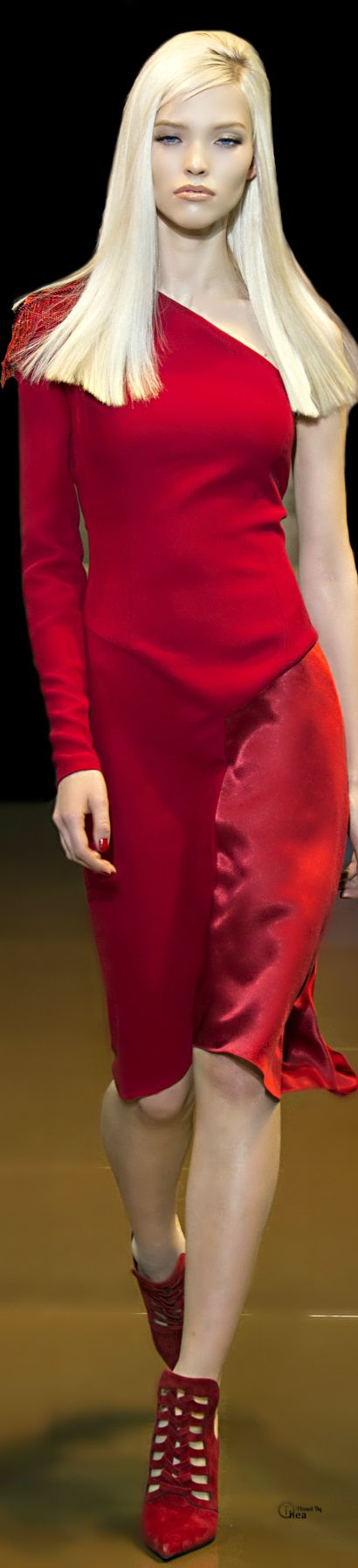 Versace ● Red Couture - Fall 2014