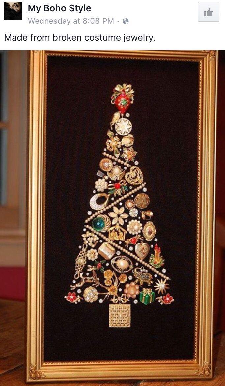 15 best Jewelry Christmas Tree images on Pinterest   Jewelry tree ...