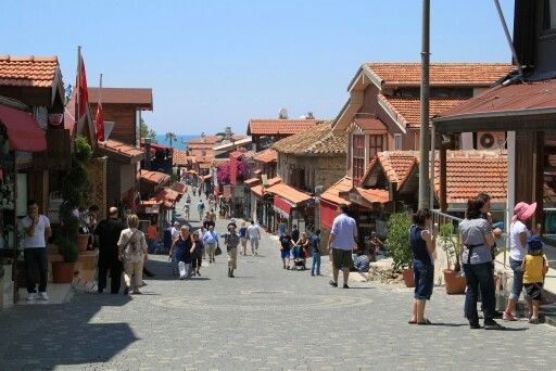 Busy main street