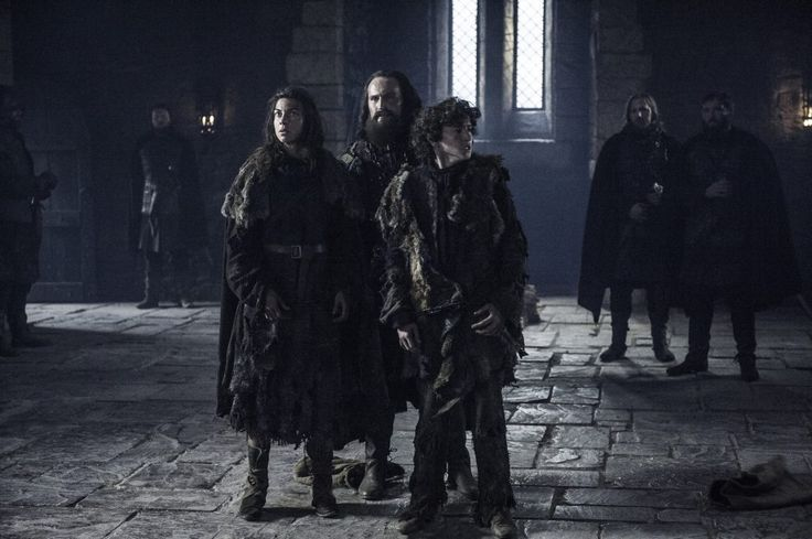 Osha (Natalia Tena) and Rickon Stark (Art Parkinson) are back at Winterfell. Betrayed by Smalljon Umber (Dean S. Jagger). At Ramsay's mercy. Because House Stark hasn't suffered enough. Game of Thrones. ASOIAF