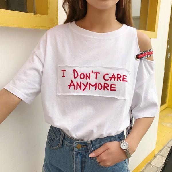 strap less loose T shirts 1584▼サイズ:ワンサイズ着丈63 ショルダー60 バスト108 袖丈16画像を参考にお好きなカラーをお選び下さい☆発着期間:10日〜3週間でお届けします。Shopの注意事項をよく読んでから、ご購入をお願い致します♪( ´▽`)キーワード:韓国ファッション、オルチャンファッション、プチプラファッション、レディースファッション、夏物、夏服、半袖Tシャツ、肩開き