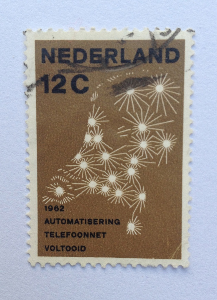 1962 | Otto Treumann | brons, zwart | nederland, telefoonnet