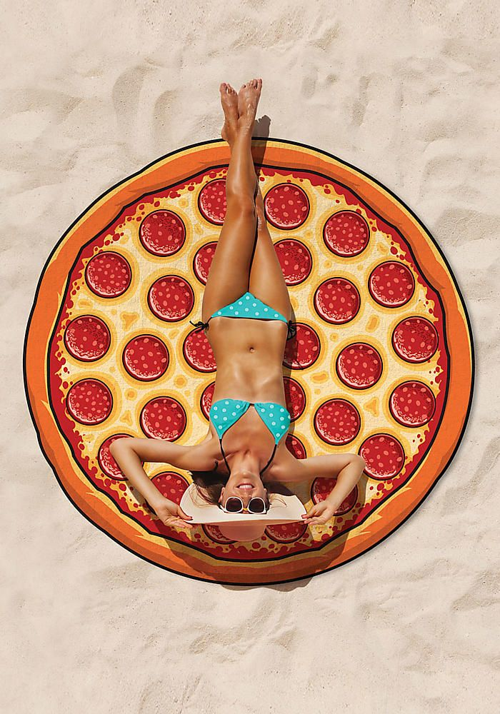 Pizza Giant Beach Blanket - Back In Stock - New Arrivals