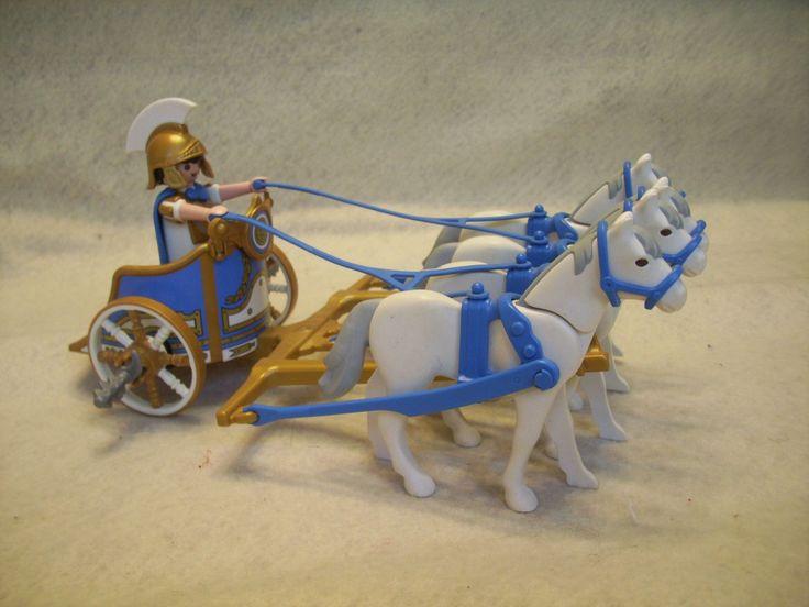 Playmobil Roman Chariot Set # 7498 Horses | eBay~ got it!  ee