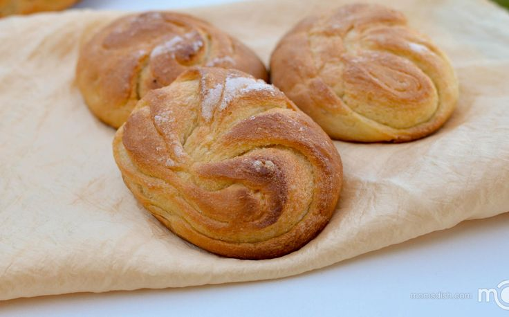 Moscow buns, step by step photo recipe