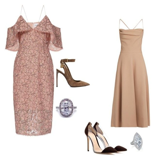 """""""Untitled #90"""" by lovebuguni on Polyvore featuring Nicholas, Valentino, Tom Ford and Gianvito Rossi"""