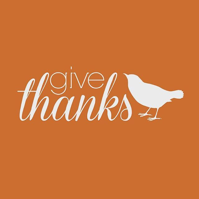 Today we are Thankful for all of your support and friendship over the past 38 years! We hope you have a Happy Thanksgiving surrounded by friends, family, and loved ones.