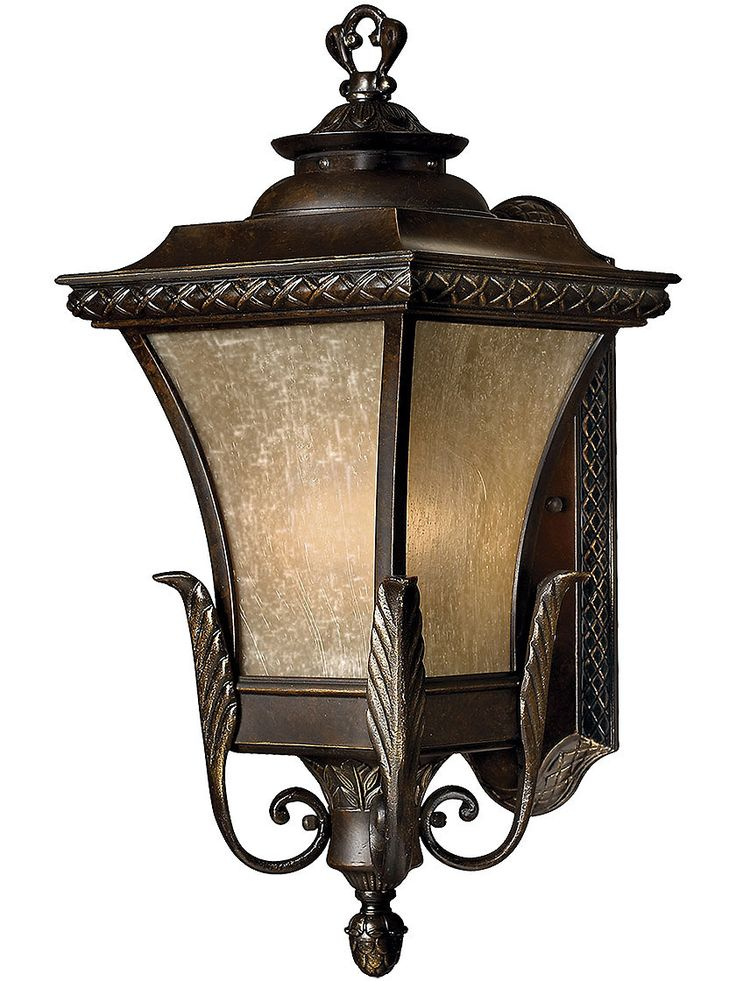 Antique Exterior Light Brynmar Large Entry Light In Regency Bronze