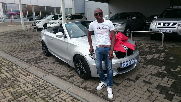 #Congratulations to Mr Thulani Mdhluli on his #BMW #135i #Convertible #DCT Wishing you many happy miles!   Contact me for all your #new #used #preowned #demo #cars #bakkies #sedans #hatchbacks #SUV #Coupe ALL MAKES AND MODELS!   #Finance available, #best prices for your trade in, I deliver across SA!   #Refer clients for my cars and I will #pay you #cash for each #successful deal!   0828858780 aadil.khan@supergrp.com www.deviantdealer.co.za