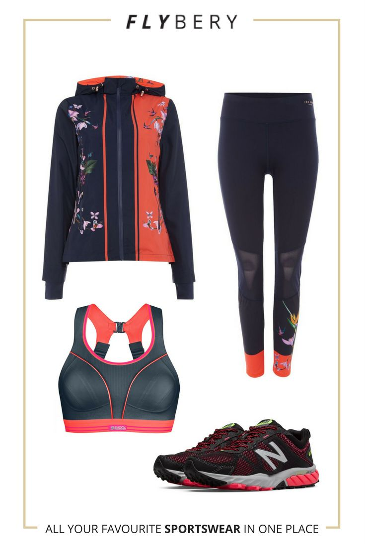 Running outfit for everyday actvity. Woman, Run, Fit, Sport,Flovers, Inspiration  Bra: https://flybery.com/clothing/shock-absorber-run-bra-a-to-c-cup-running/p/147496  Jacket: https://flybery.com/clothing/ted-baker-tropical-oasis-hooded-windbreaker-sports-jacket-navy-lifestyle/p/145995  Leggings: https://flybery.com/clothing/ted-baker-tropical-oasis-mesh-panelled-legging-navy-dance/p/145990  Trainers: https://flybery.com/shoes/new-balance-610v5-running/p/141495