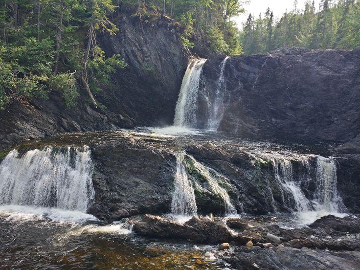 (HD) Middle Brook - Glenburnie, Newfoundland #Swimming #Waterfall #Brook #Newfoundland