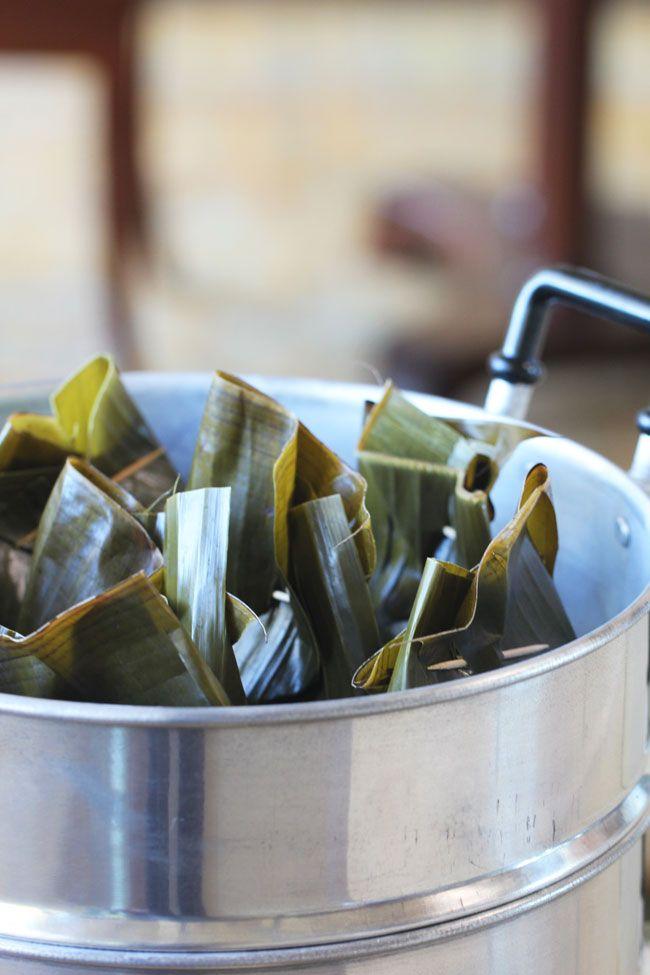 Tum Bebek (Balinese Spicy Duck Wrap In Banana Leaves) | ~Elra's Cooking~