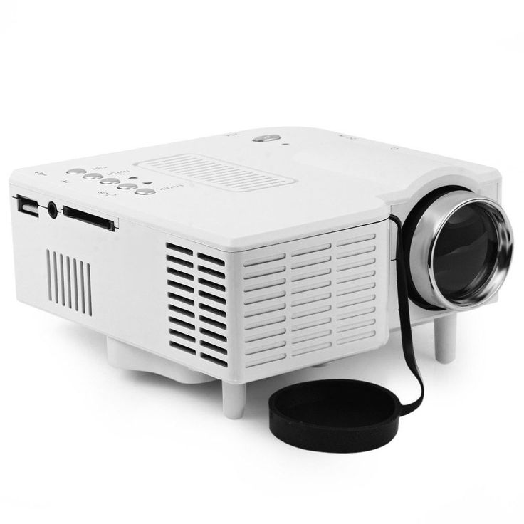 UC-40 HD 400 Lumens Home Mini LED Projector LCD Projector Support AV SD VGA HDMI SD