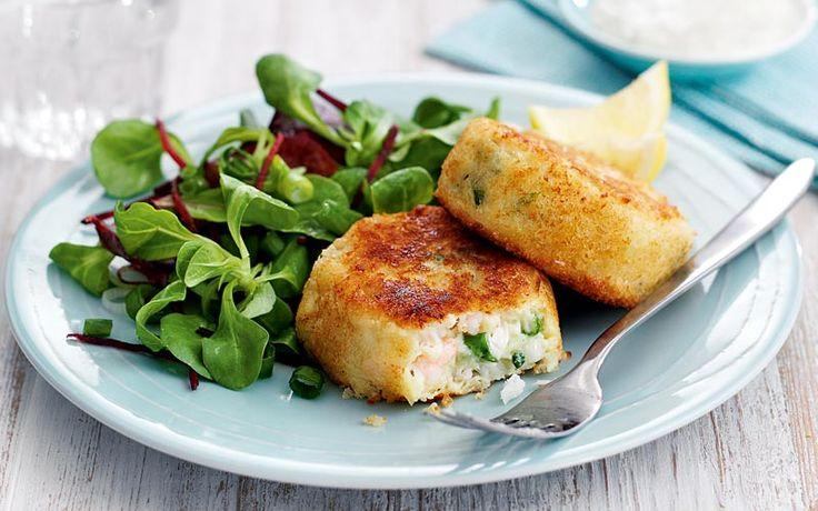 Cod and prawn fishcakes recipe