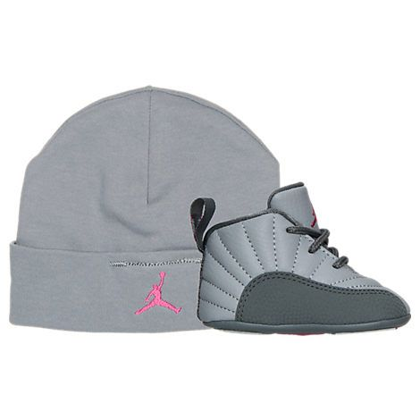 ... Air Jordan Retro 12 Crib Basketball Shoes Finish Line Kids Stuff  Pinterest Products 21957fe84