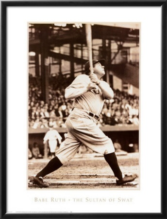 The Great Bambino, the Sultan of Swat... was he the greatest EVER?  or not?  Who rates YOUR top 10 ever in MLB?