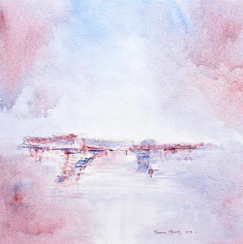 White Cliffs of Heaven by Melanie Meyer ,created in 2017
