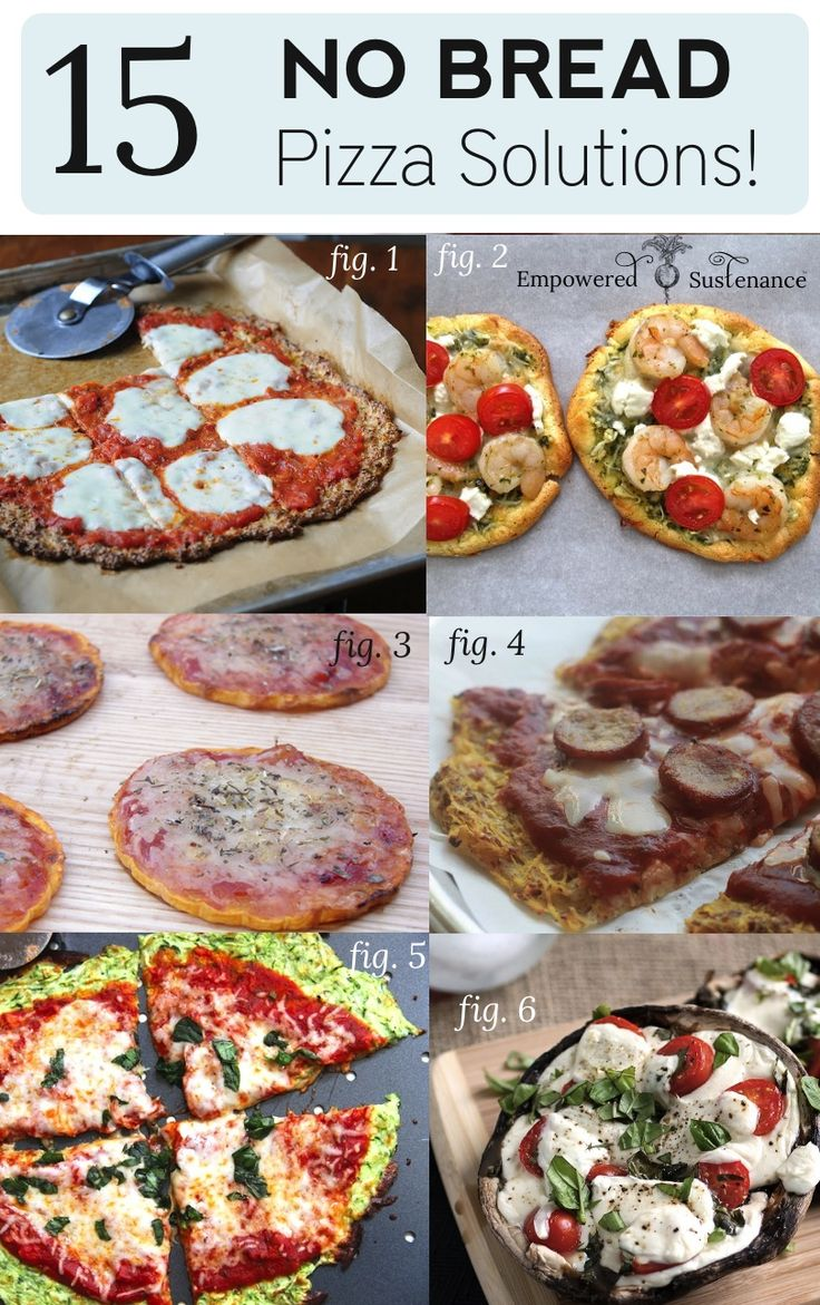"Paleo pizza crusts - 15 great ideas for ""no bread"" pizzas!"