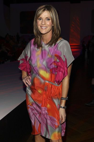 Kylie Gillies Hair... and dress!