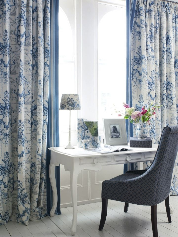 11 best images about my english country fabrics on for Fabric window blinds designs