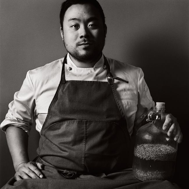 david chang. chef portraits.