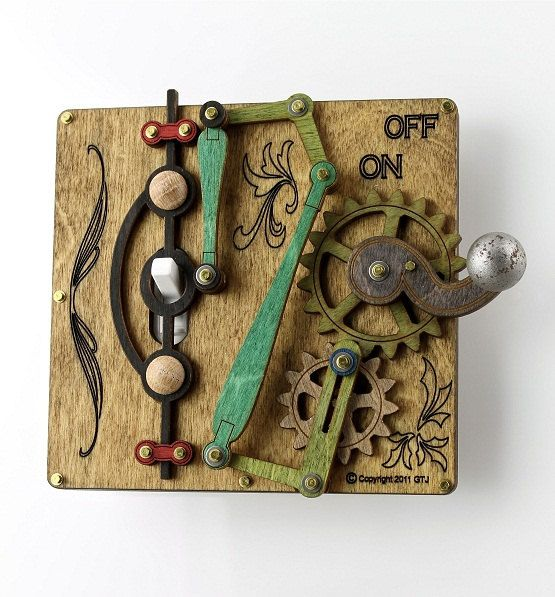 THIS IS AWESOME!  Single levered Light Switch Plate by GreenTreeJewelry on Etsy, $39.95