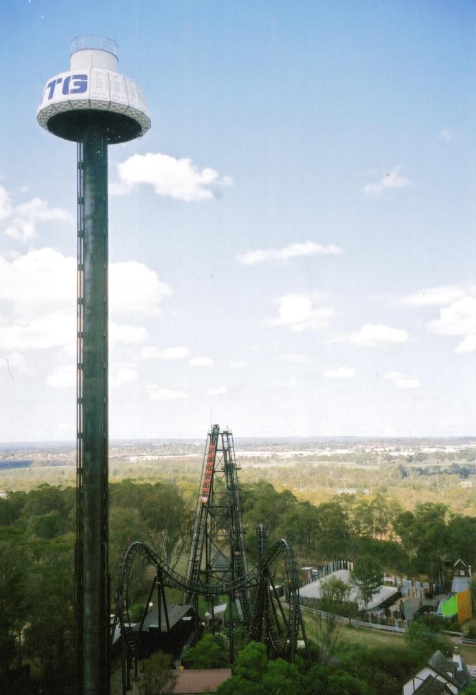 Space Probe at Australia's Wonderland / Wonderland Sydney