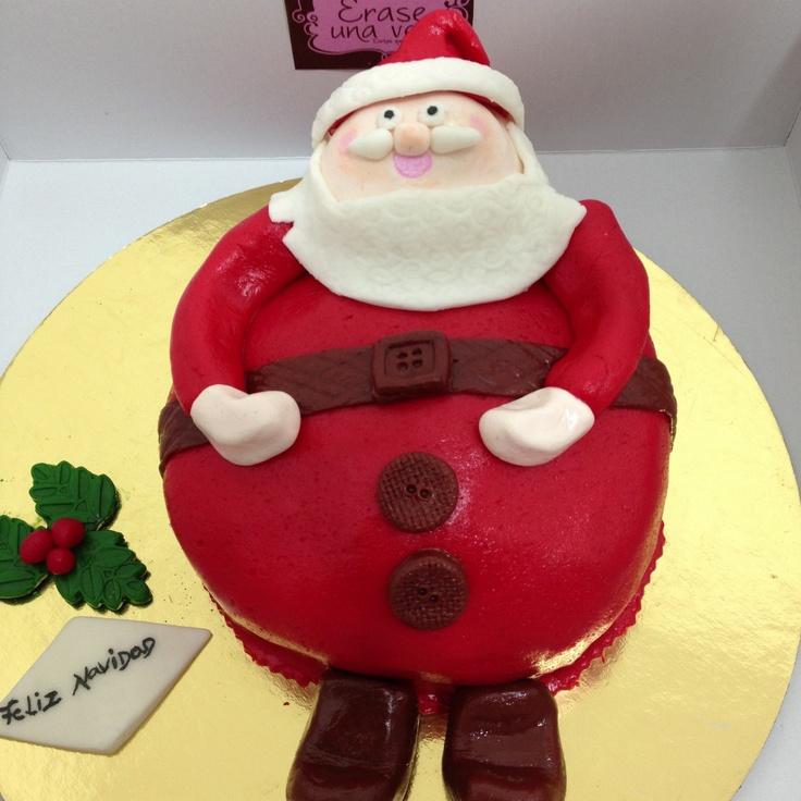 """Santa's Cake by """"Erase Una Vez"""""""