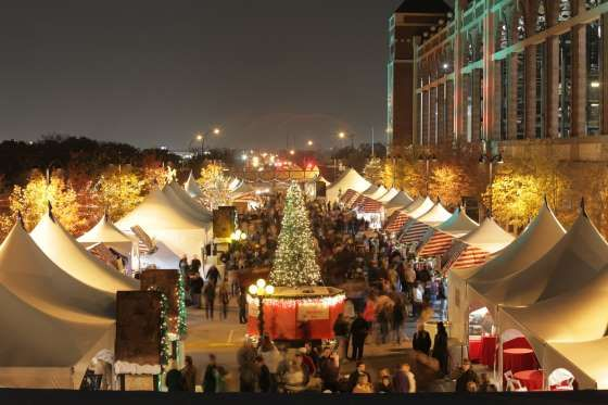 TEXAS CHRISTKINDL MARKET, ARLINGTON       One of the largest open-air holiday markets in the Southwest, Texas Christkindl Market (Nov. 23 to Dec. 23) boasts more than the usual European-style food, drinks, and gifts.