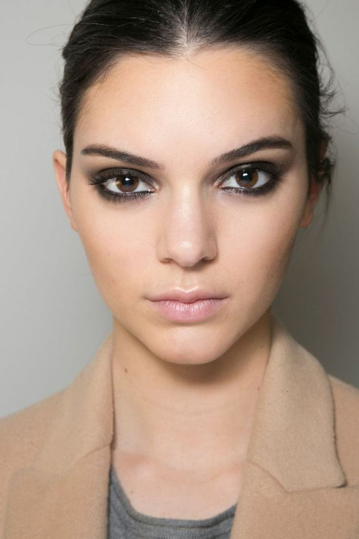 686 best images about maquillage on pinterest smoky eye coiffures and robes - Maquillage smoky eyes ...