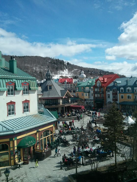 Station Mont-Tremblant in Mont-Tremblant, QC
