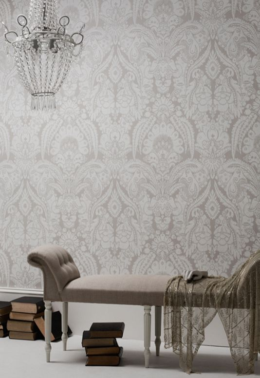 Chatterton Damask Wallpaper | Cole and Son Albemarle Collection 2012