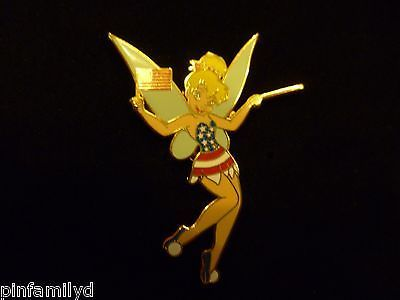 Disney Shopping - Fourth of July Series - Tinker Bell Flag Patriotic LE 250 Pin