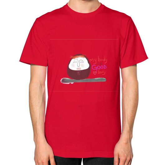 My Body Is A Good Body Square Cut T-Shirt