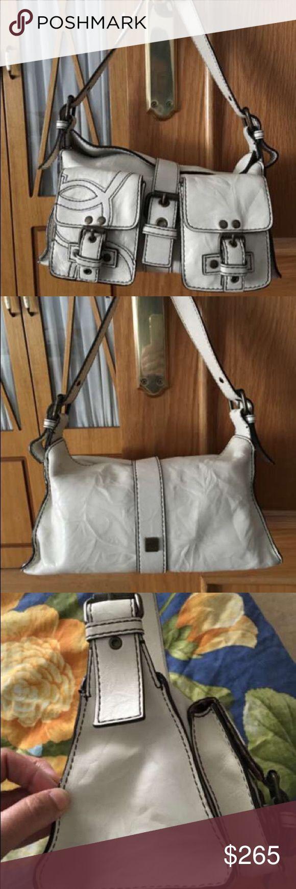Real leather brand PURIFICACIÓN GARCÍA Georgeus handbag 100% leather. New. Purificación García Bags Shoulder Bags