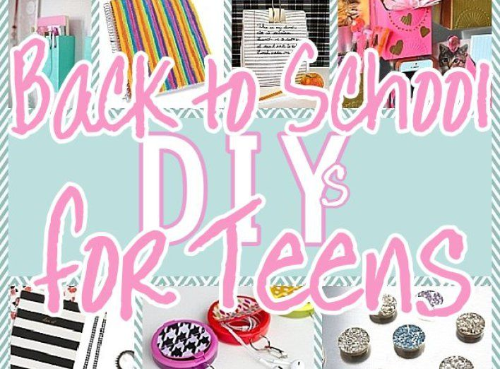 DIY Back to School Projects for Teens and Tweens - Locker Decoration Ideas - Customized School Supplies - accessories and more for the do it yourself TEENs or TWEENs