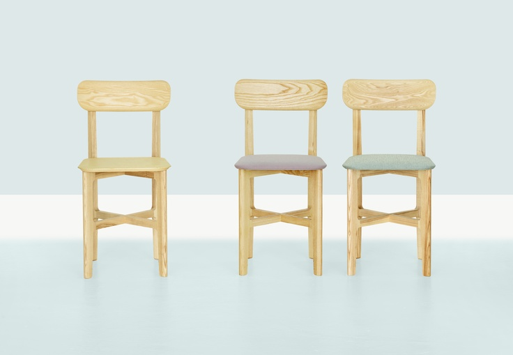 1.3 CHAIR by Kihyun Kim for Zeitraum - with NEW upholstery options for 2013