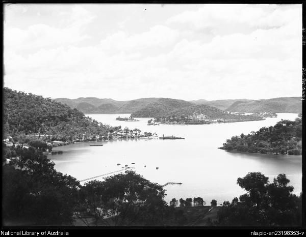 View of Hawkesbury River, New South Wales