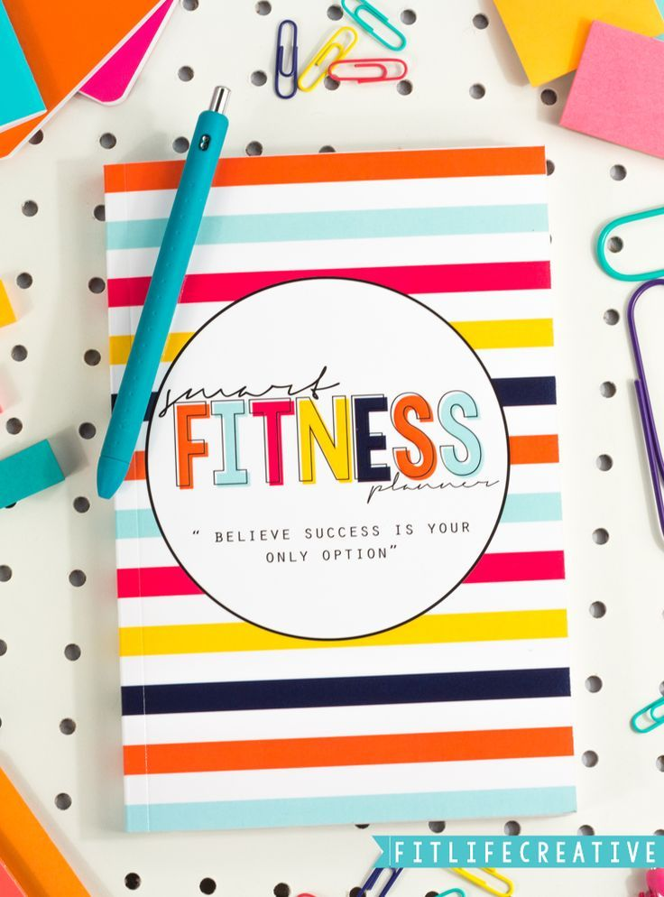 Are you starting out on a new fitness journey? Do you have a place to keep all of your goals, plans and progress?  The SMART Fitness Planner allows you to keep track of your weight loss and fitness journey while helping you stay motivated at the same time.     Track your measurements, goals, meals, shopping lists, workouts all things related to your healthy lifestyle and journey.  It is even small enough to fit into your purse or gym bag.